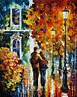 Leonid Afremov AFTER THE DATE painting