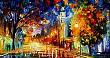 Leonid Afremov CITY OF JOY painting