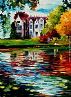 Leonid Afremov CRAWLEY - WEST SUSSEX, ENGLAND painting