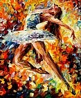 Leonid Afremov ELEVATION painting