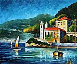 lake como Paintings - ITALY LAKE COMO VILLA BALBIANELLO