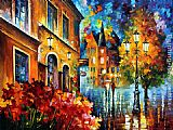 Leonid Afremov LUCKY NIGHT painting