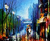 Leonid Afremov MEMORIES OF PARIS painting