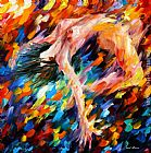 Leonid Afremov SOMERSAULT painting