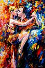 Leonid Afremov TANGO OF LOVE painting