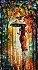Leonid Afremov THE LOVE FLIGHT painting