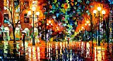Leonid Afremov THE SPECTRUM FOR HAPPINESS painting
