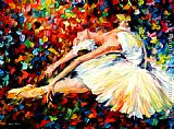Leonid Afremov THRILL painting