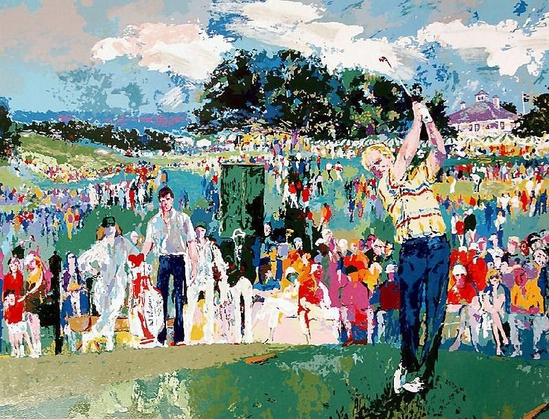 Leroy Neiman April at Augusta