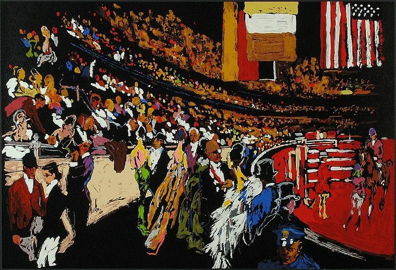 Leroy Neiman International Horse Show New York