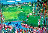 Leroy Neiman 37th Ryder Cup painting