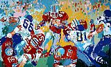 Leroy Neiman Archie Ohio State Buckeye Suite painting
