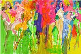 leroy neiman Paintings - Carnaval Suite Panteras