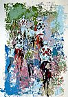 Leroy Neiman Four Aces painting