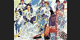 Leroy Neiman French Connection painting