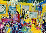Leroy Neiman International Auction painting