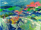 Leroy Neiman Marlin Fishing painting