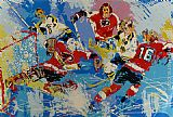 Leroy Neiman Philadelphia Flyers (Boston Bruins) painting