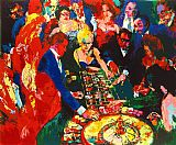 Leroy Neiman Roulette II painting