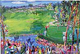 Golf paintings - Ryder Cup by Leroy Neiman