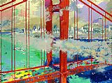 Leroy Neiman San Francisco by Day painting