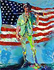 Leroy Neiman The Minuteman painting