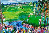Golf paintings - the 37th Ryder Cup by Leroy Neiman