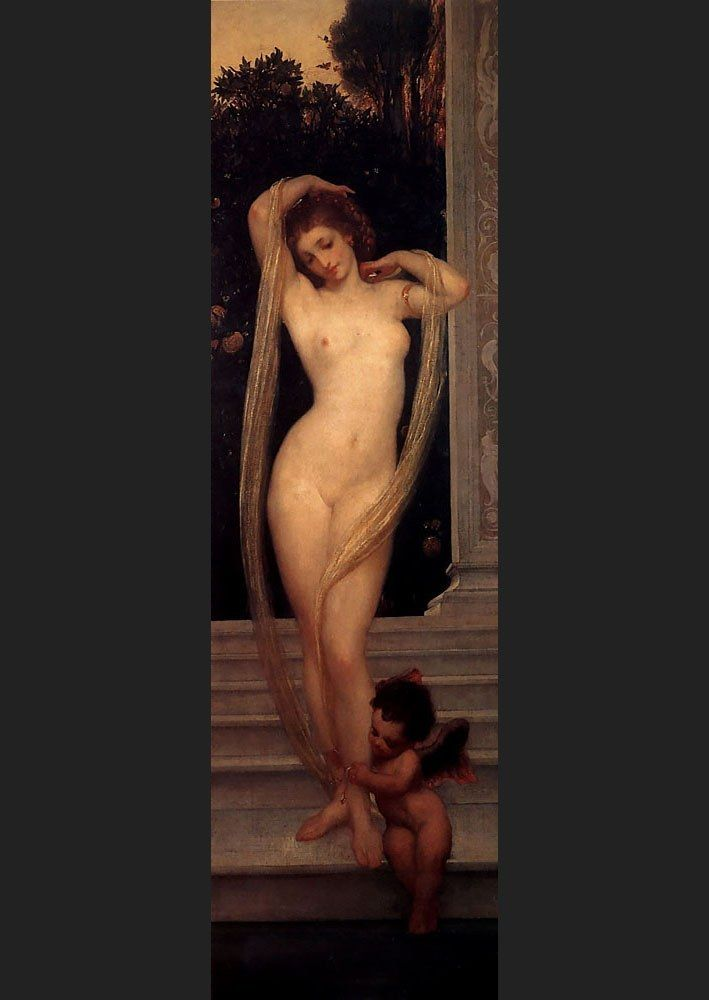 Lord Frederick Leighton A Bather