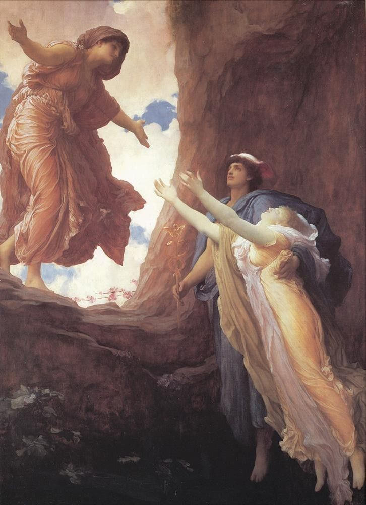 Lord Frederick Leighton Return of Persephone