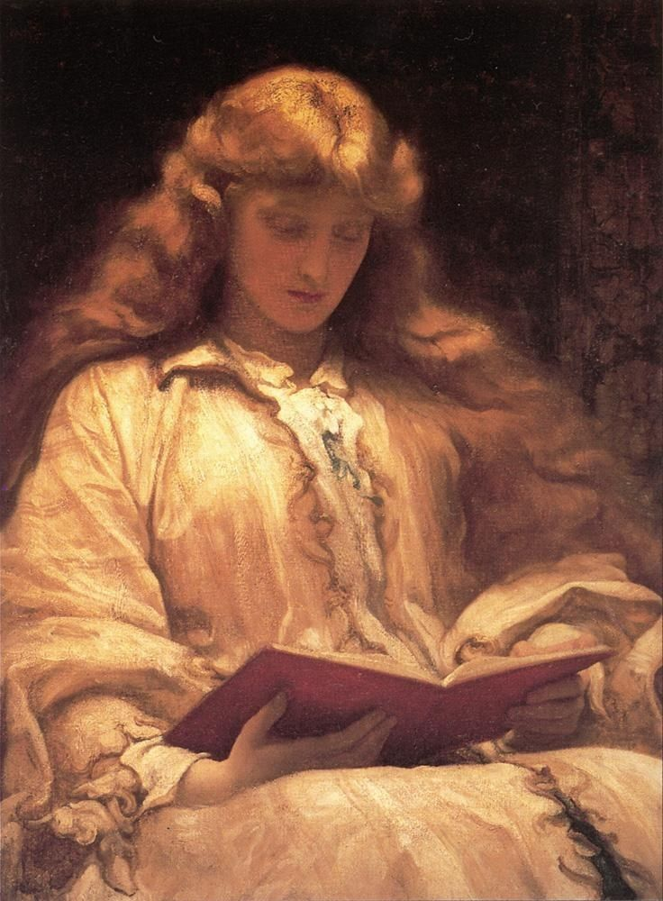 Lord Frederick Leighton The Maid with the Yellow Hair