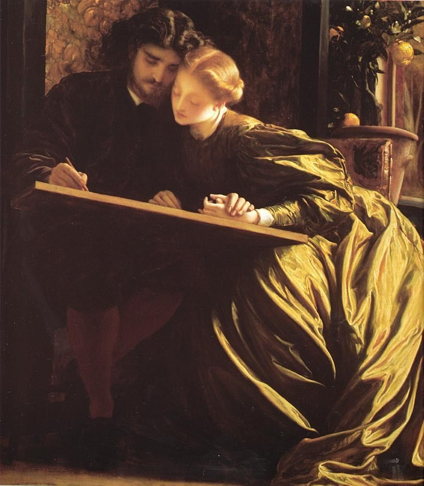 Lord Frederick Leighton The Painter's Honeymoon