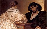 Lord Frederick Leighton The Golden Hours painting