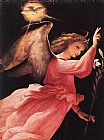 Lorenzo Lotto Angel Annunciating painting