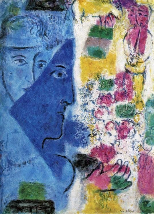 Marc Chagall The Blue Face