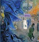 Marc Chagall The Wedding Candles painting