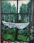 country village ii Paintings - Window in the Country