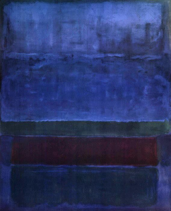 Mark Rothko Blue Green and Brown 1951