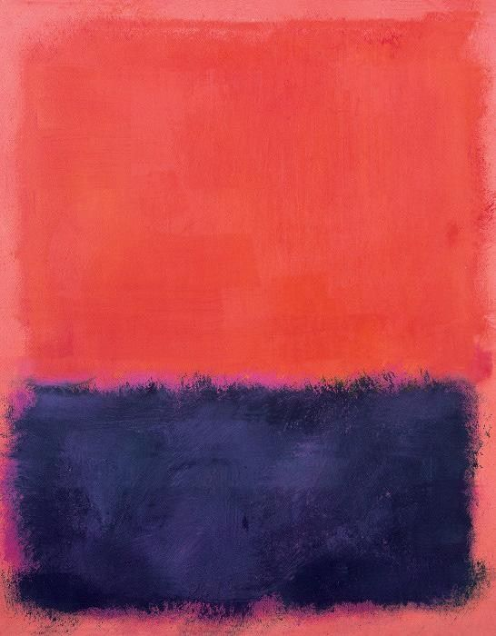 Mark Rothko Untitled 1960-61