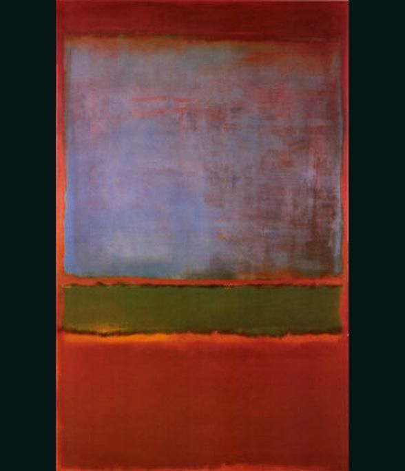 Mark Rothko Violet Green and Red 1951