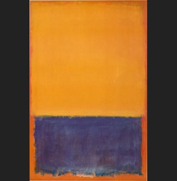 Mark Rothko Yellow and Blue