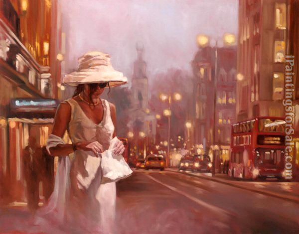 Mark Spain Hold Onto The Night white dress