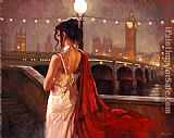 Mark Spain romantic reflections painting
