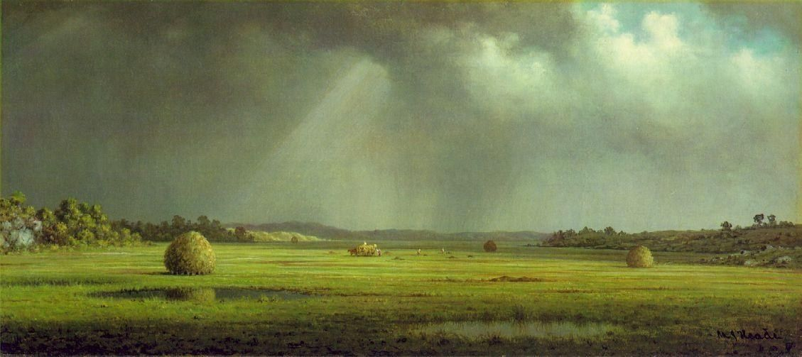 Martin Johnson Heade Newburyport Meadows