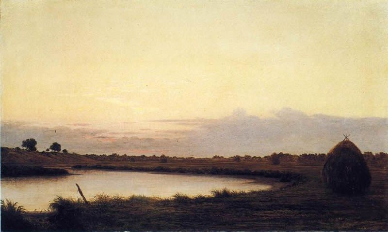 Martin Johnson Heade Quiet River at Dusk