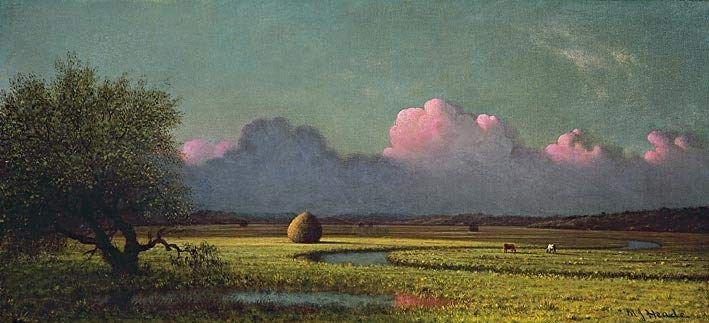 Martin Johnson Heade Sunlight And Shadow