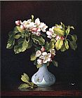 Martin Johnson Heade Apple Blossoms in a Vase painting