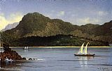 Martin Johnson Heade Seascape Brazilian View painting