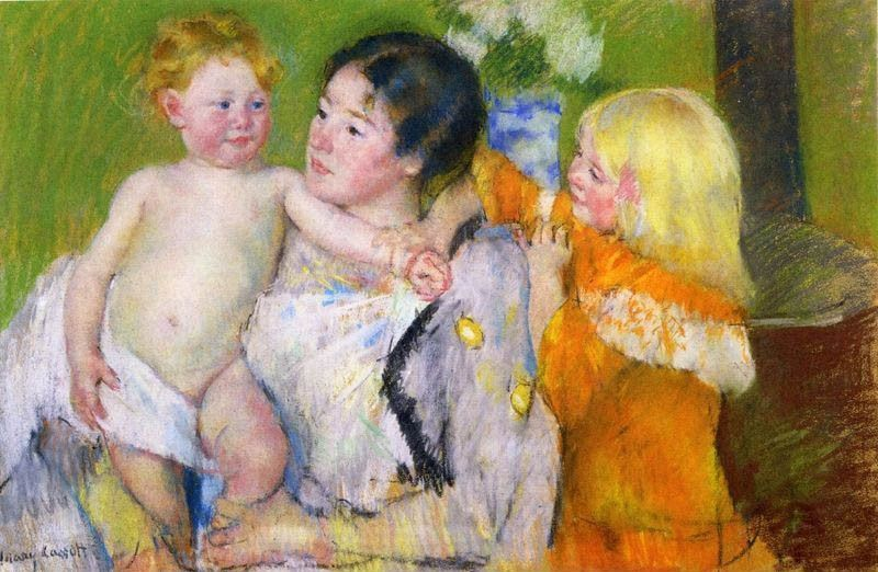 Mary Cassatt After The Bath