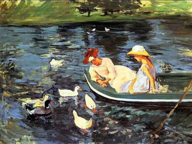 Mary Cassatt Summertime 2