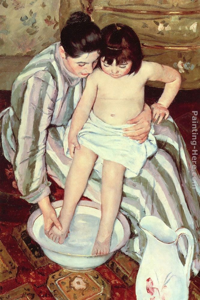 Mary Cassatt The Bath